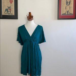 Comfortable Teal Dress